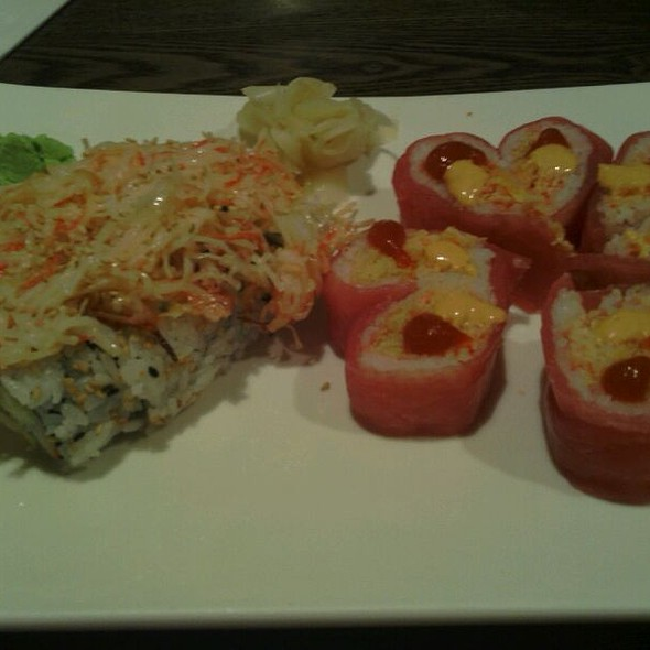 Volcano Roll And Love Roll @ Wasabi House