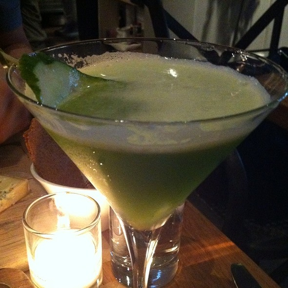 Cool Hand Cuke Martini @ Colonie
