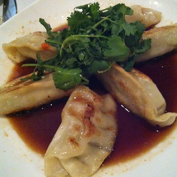 Chicken potstickers @ Thai Spice