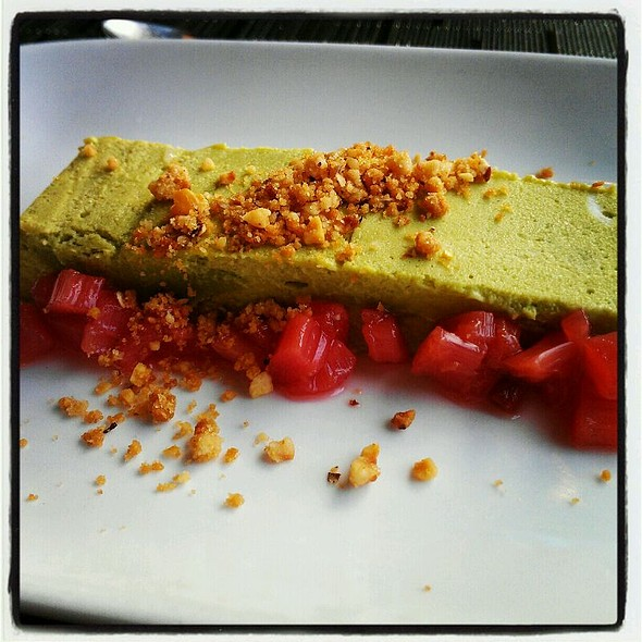 White Chocolate Green Tea Mousse @ Joule