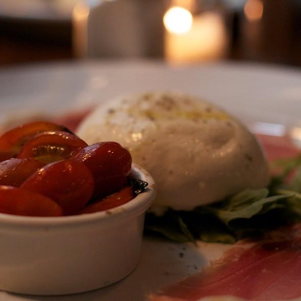 Burrata, Tomato And Serrano Ham - Bailey Restaurant and Bar, New York, NY