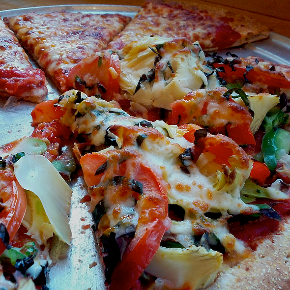 Veggie Pizza @ Extreme Pizza