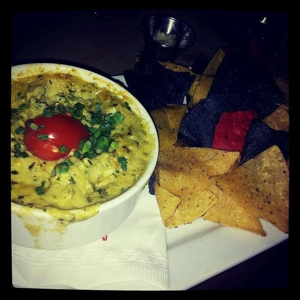 Tortilla Chips with Spinach Artichoke Dip @ Méchant Boeuf Bar Brasserie