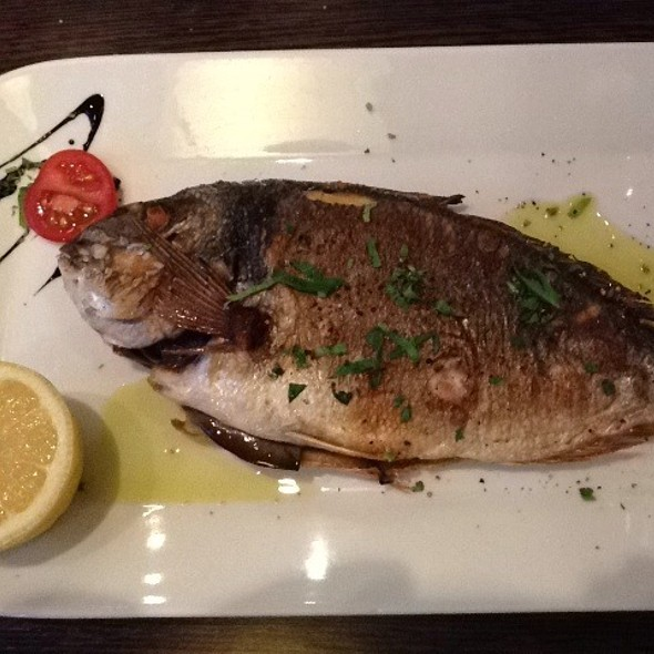 Whole Grilled Dorade @ Fioretto