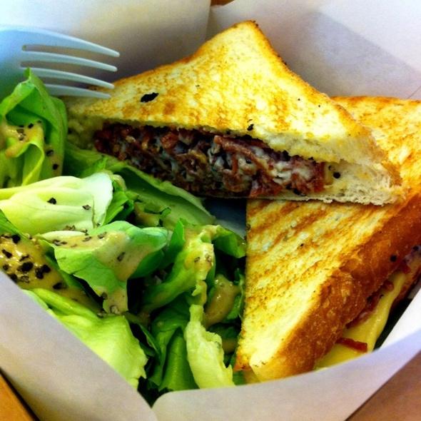 Beef Rasher Sandwich