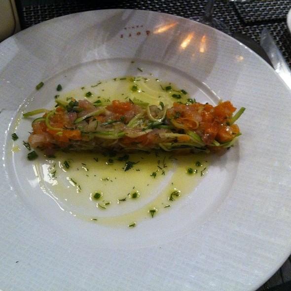 Salmon And Bar Tartar  @ Bar à Huîtres Saint Germain