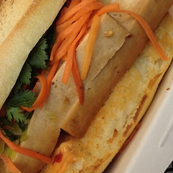 Organic Tofu Sandwich @ Num Pang Sandwich Shop