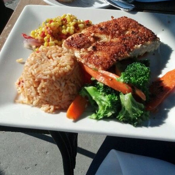 Parmesean Crusted Mahi Mahi @ Belmont Brewing Co