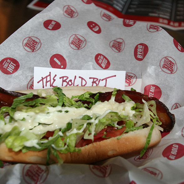 BLT Hotdog @ Bold Bite Dogs & Fries