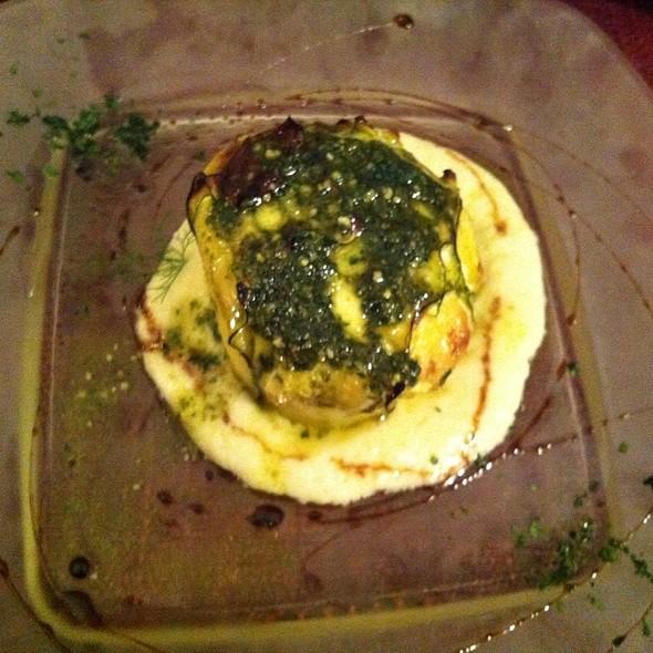 Fagottino Di Zucchine Con Ripieno Al Formaggio @ Osteria Bernardo