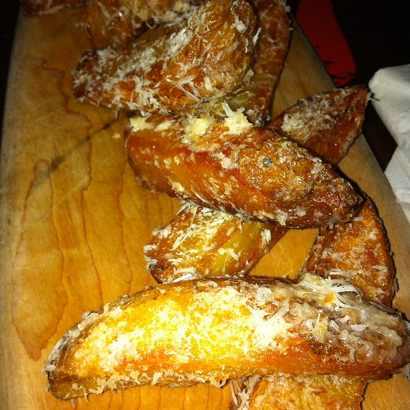 Duck Fat and Parmesan Fries  - Brinkley's Broome St., New York, NY