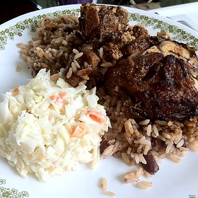 Jerk Chicken And Oxtail