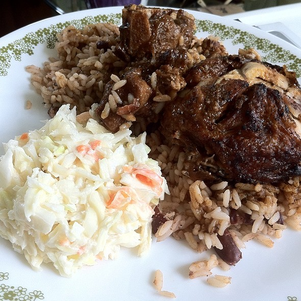 Jerk Chicken And Oxtail  - The Real Jerk Restaurant, Toronto, ON