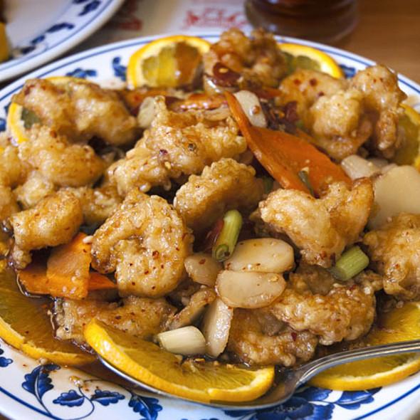 Szechwan Shrimp @ Mandarin Canton Restaurant