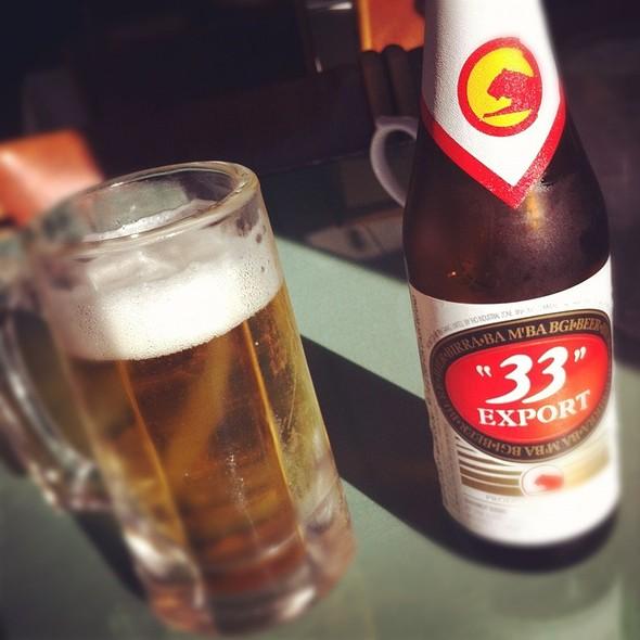 33 Vietnam Beer @ Rang Dong Restaurant