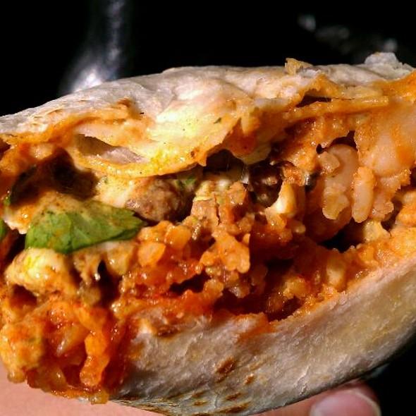 Al Pastor Super Burrito @ El Tonayense