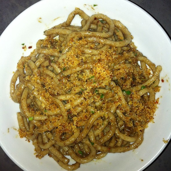 bigoli pasta @ Anchovies & Olives