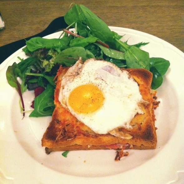Croque Madame @ Paul, Covent Garden
