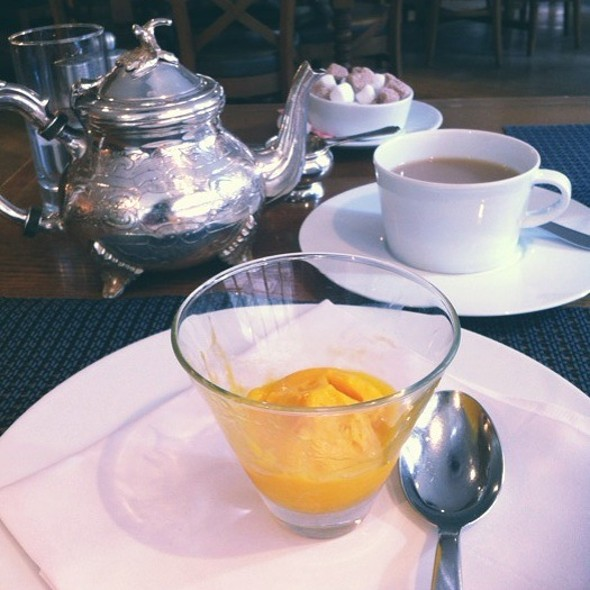 Mango Sorbet & Black Tea @ Fortnum & Mason