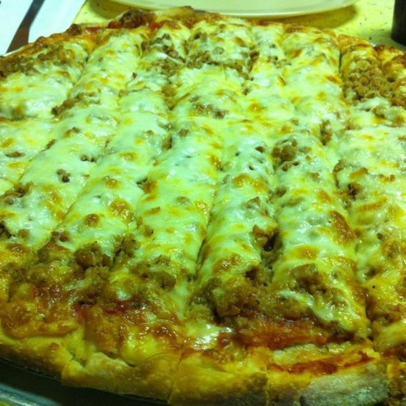 Italian Sausage Pizza @ Frank's Pizzeria