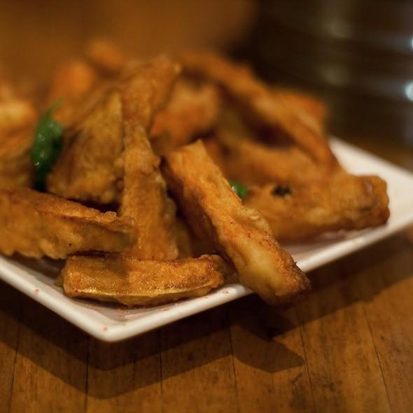 Deep Fried Sweet Potato Plum Powder @ Taipei Chef Restaurant