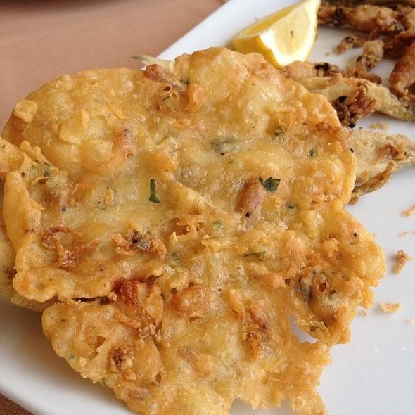 Tortilla De Camarones @ La Marea