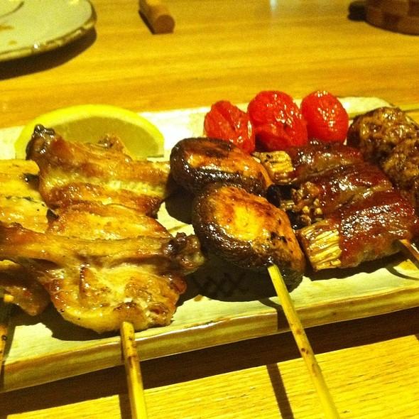 San Course @ San-Sui Sumiyaki & Tsuki Bar (One Fullerton)