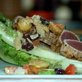Tuna Nicoise Salad - Elliott's on Linden, Pinehurst, NC