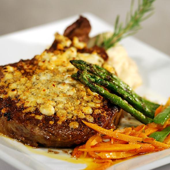 Grilled Certified Angus Beef Prime Ribeye Steak @ Salvatore's Italian Gardens