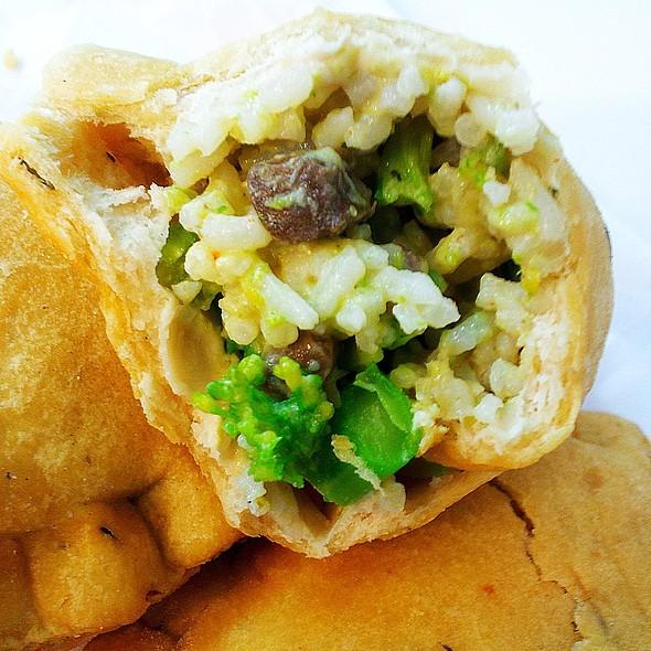 Broccoli Rice Casserole @ Oh My! Pocket Pies
