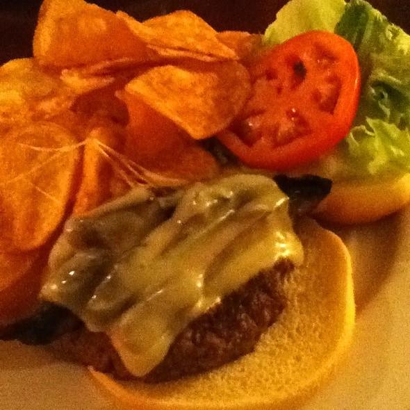 Portabella Mushroom Swiss Burger @ Front Street Brewery