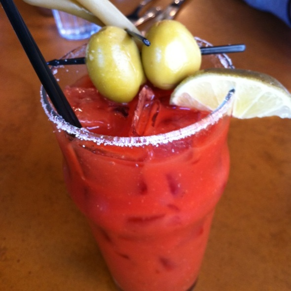 Bloody Mary @ The Morning Star Cafe