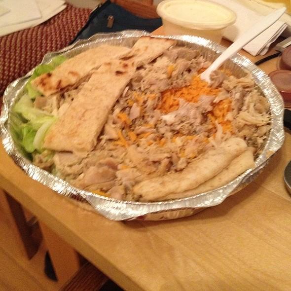 Chicken & Rice  @ The Halal Guys