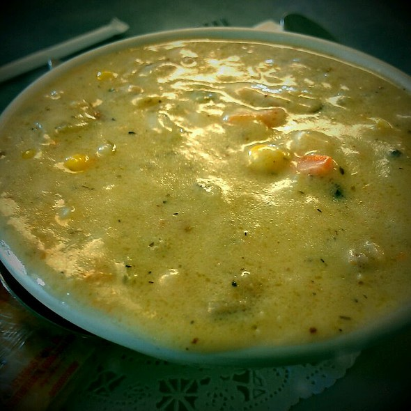 Smoked Turkey Corn Chowder