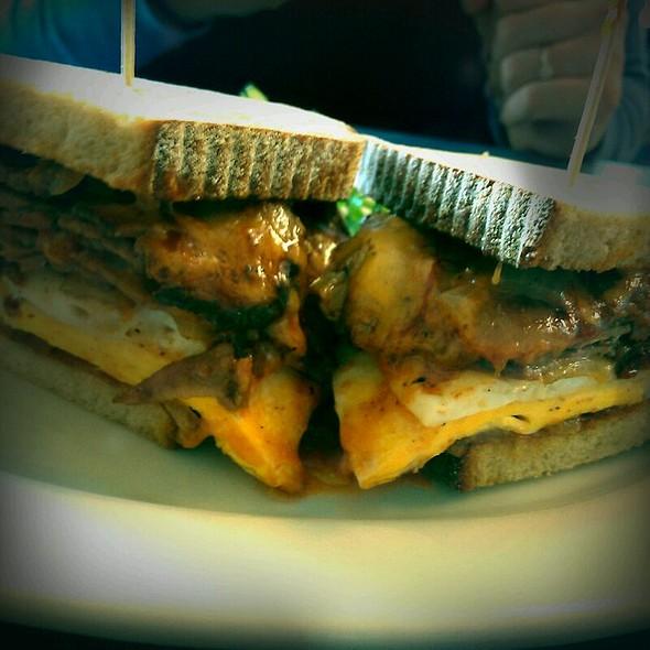 Pastrami & Egg Sandwich