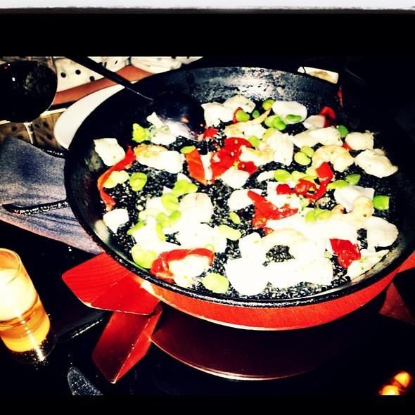 Paella Black Bean @ soccarat paella bar