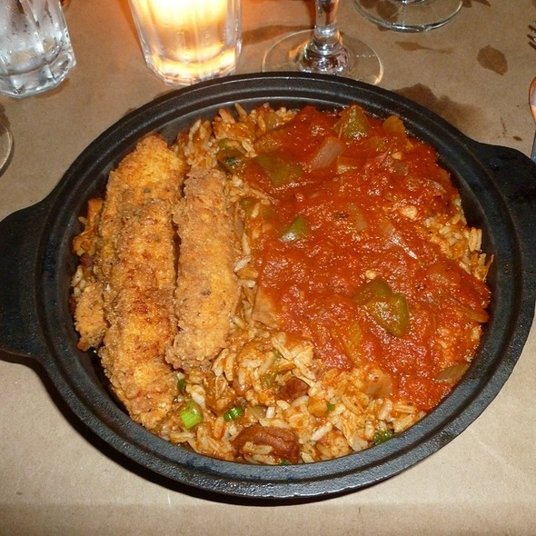Chicken And Sausage Jambalaya @ Delta Grill