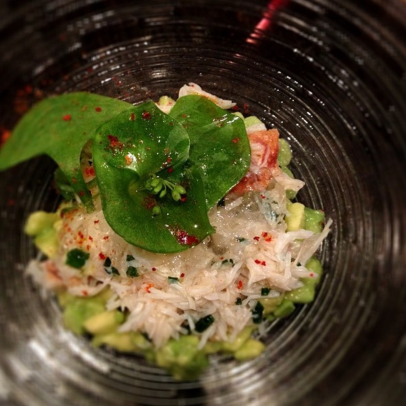 Crab And Avocado In Verbena And Lemon Jelly @ L'Agrume