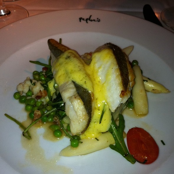 John Dory With Saffron Sauce @ Peploes