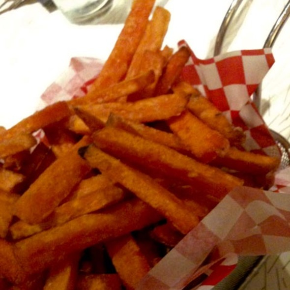 Sweet potato fries @ Custom Burger and Custom Lounge