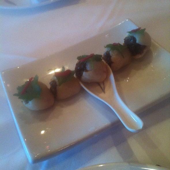 Lychee Pork Dumplings
