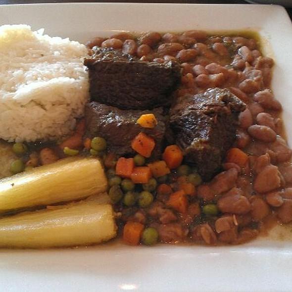 Seco de Cordero con Frijoles @ Don Gallo Peruvian Restaurant