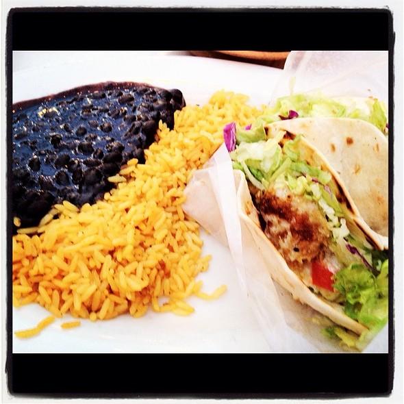 Fish Taco @ La Fonda Latina