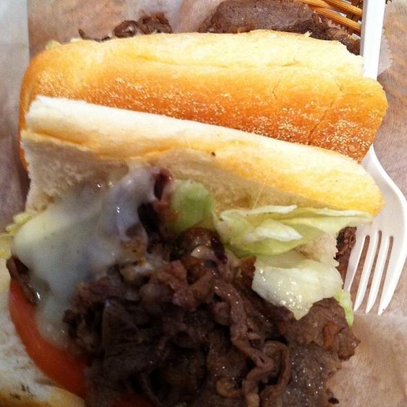 Cheesesteak @ Campo's Deli At Market