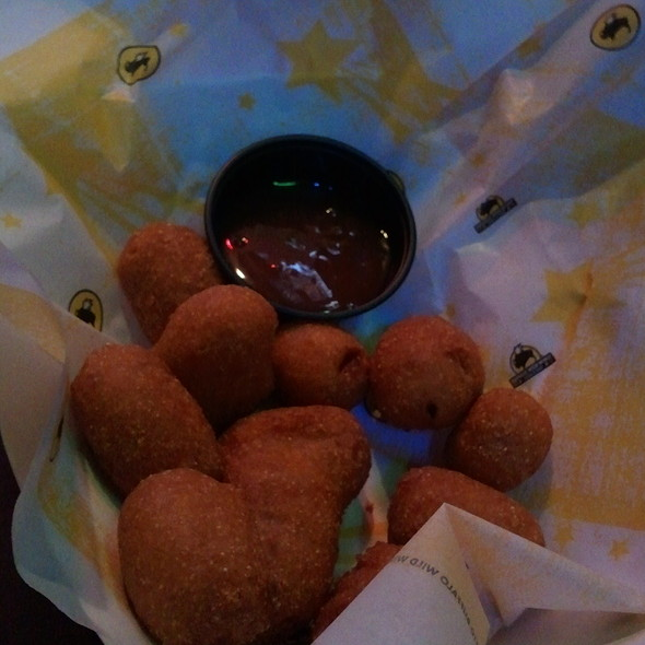 Mini Corndogs @ Buffalo Wild Wings Grill & Bar