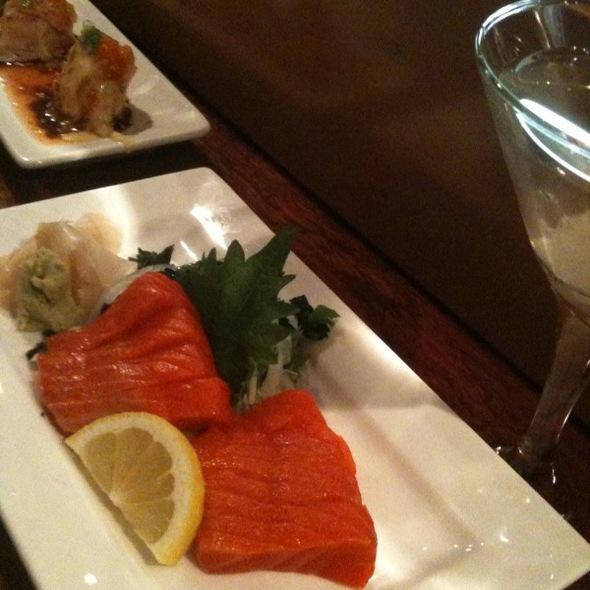 PNW Salmon Sashimi @ Umi Sushi Restaurant & Sake Bar