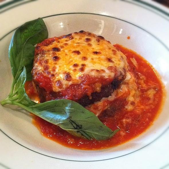 Eggplant With Tomato And Mozzarella @ Macelleria Restaurant