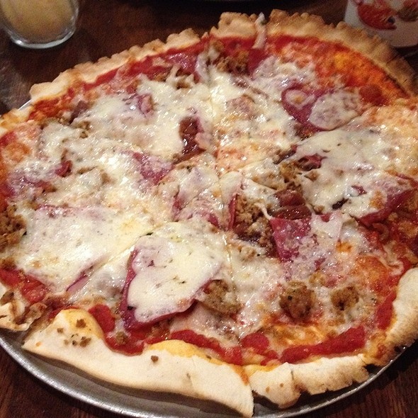 Gourmet Meat Pizza @ Bagby Pizza Co