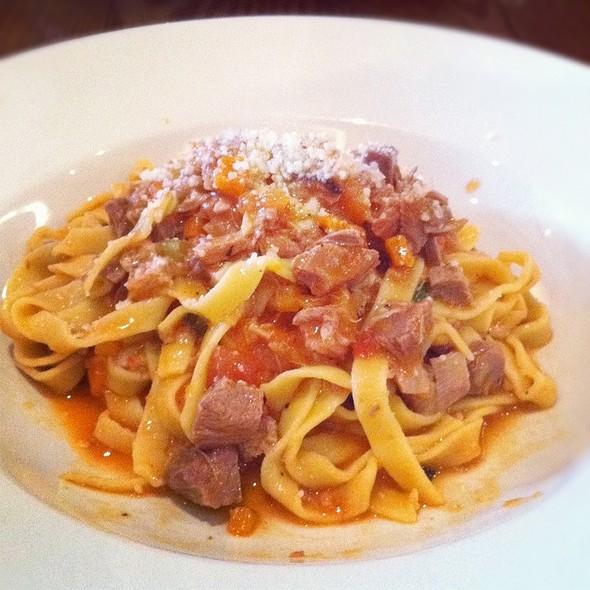 Fetuccine With Lamb Ragu @ Macelleria Restaurant