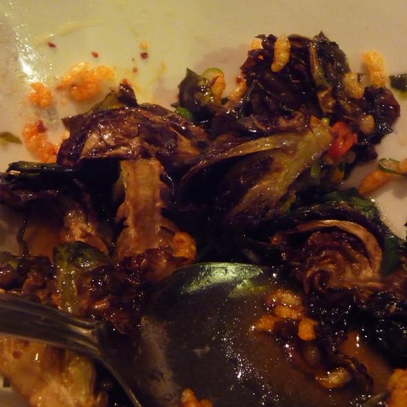 Fried Brussels Sprouts @ Momofuku Ssam Bar